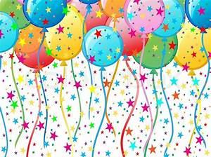 Balloon Background Stock Vector Colourbox
