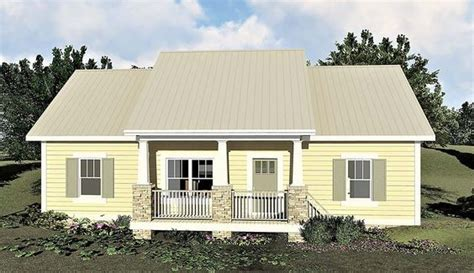 Country Style House Plan 64595 with 3 Bed 2 Bath in 2020