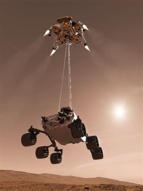 mars rovers terrifying landing hovercrafts