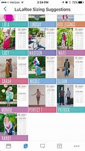 Size Chart Lularoe Pinterest