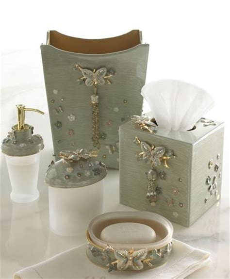 vanity dresser set accessories beautiful papillion bathroom vanity accessories
