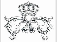 Crown Coloring Printable Princess Crown Template Printable