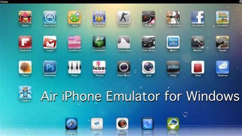 iphone app emulator 7 best ios emulators for pc the ultimate list