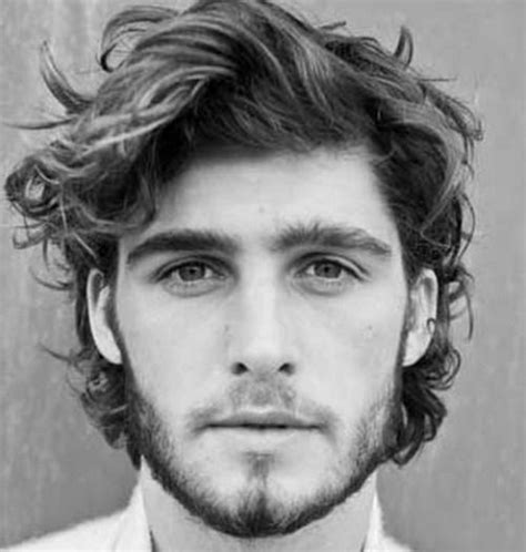 cool wavy hairstyles  men  guide wavy