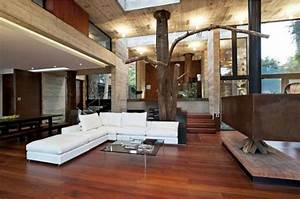 Arte Y Arquitectura  Un Bosque Dentro De Casa