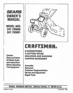 Craftsman 247 795861 User Manual