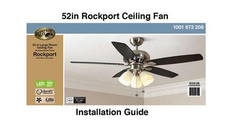 how to install hton bay ceiling fan hton bay ceiling fan remote control manual taraba