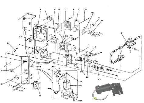 Lincoln Part Diagram by Lincoln 369291 Conveyor Motor For Oven