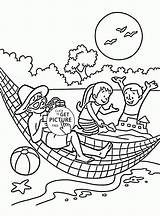 Coloring Vacation Awesome Printable Seasons Getdrawings Getcolorings Template Super Pag sketch template
