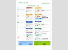 Calendario Escolar 20172018 FAPA ÁGORACÓRDOBA