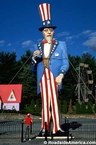 worlds tallest uncle sam danbury connecticut