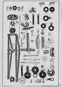 Velocette 1954 Mac Girder Forks Diagram