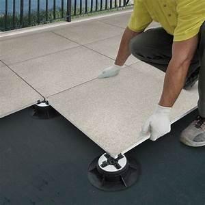 comment faire des plots en beton pour terrasse wasuk With comment poser du carrelage sur une terrasse