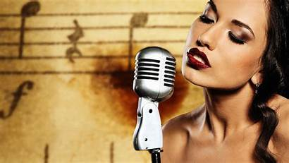 Singer Background Wallpapers Wall