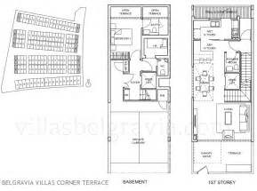 house plans with attached guest house belgravia villas freehold ang mo kio cluster houses
