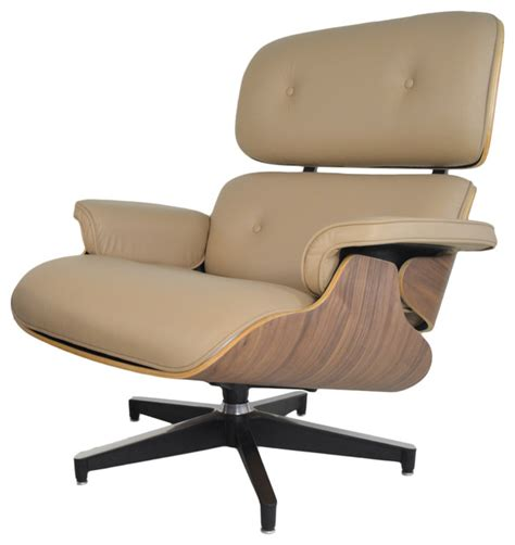 modern accent chair and ottoman classic mid century modern italian leather lounge chair