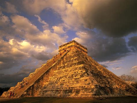 ancient mayan ruins chichen itza mexico wallpapers hd