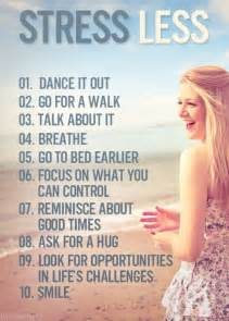 Less Stress Quotes