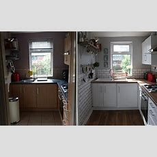 A Tiny Kitchen Makeover Before & After  Make Do And Mend