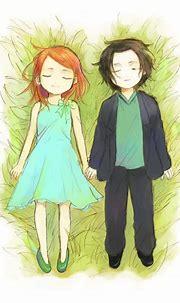 Fan Art - Severus Snape & Lily Evans Fan Art (24084403 ...