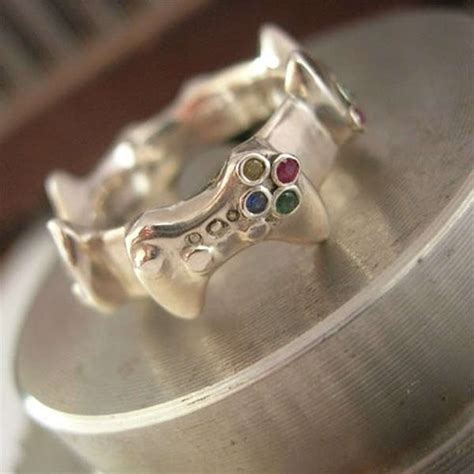 nerdy controller wedding bands controller wedding bands
