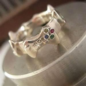 nerdy controller wedding bands controller wedding bands With nerdy wedding rings
