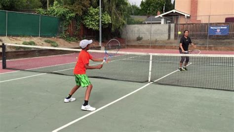 Warm-up tips for competitive tennis