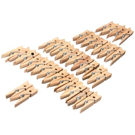 100pcs 35mm natural wooden paper us 5 38