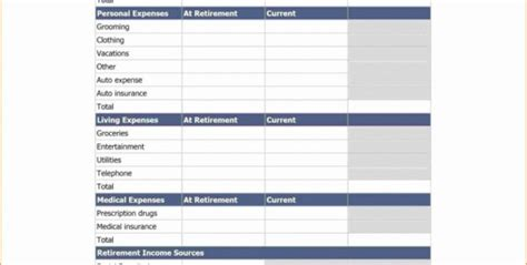 spreadsheet template page  monthly financial planning