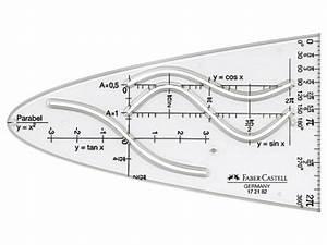 Parabel Rechnung : faber castell bk 1 parabelschablone glasklar ebay ~ Themetempest.com Abrechnung