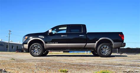 nissan platinum truck 2016 nissan titan xd platinum reserve 5 6l v8 hd road