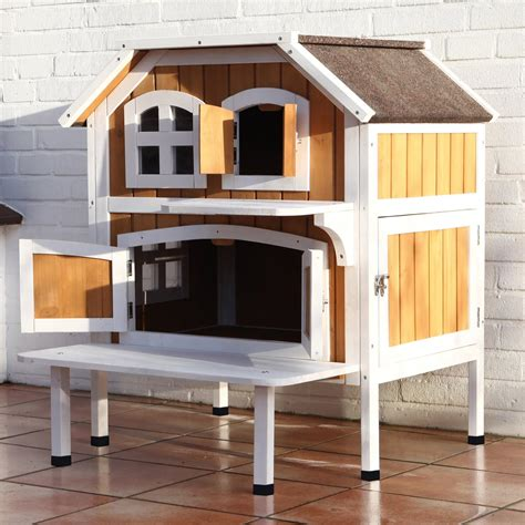 trixie pet products  story cat cottage cat houses