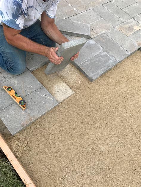 how to build a paver patio how to install a custom paver patio room for tuesday