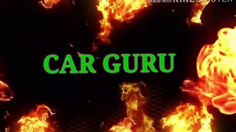 Car Guru Official New Intro Youtube