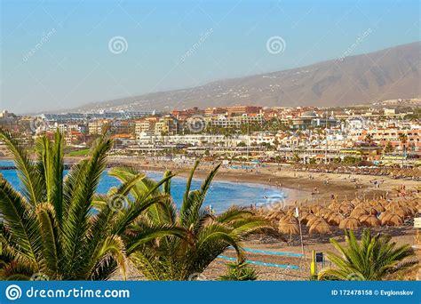 Spain Tenerife Adeje December 17 2018 Tenerife