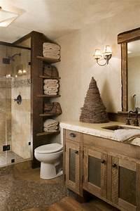 Style De Salle De Bain : meubles salle de bain et d coration dans le style rustique ~ Teatrodelosmanantiales.com Idées de Décoration
