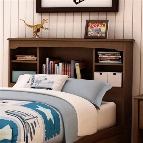 South Shore Willow Twin Bookcase Headboard 39 Multiple