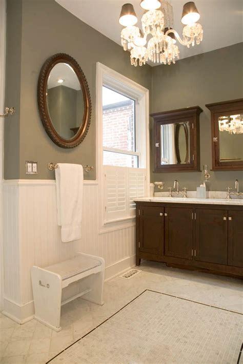 Newport Bathroom Fixtures by Master Bath Renovation In 1910 Dc Row House Newport Brass