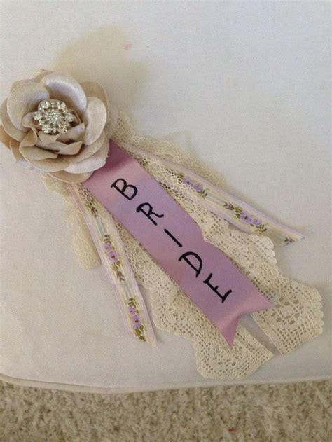 bridal shower corsage this up for a customer bridal shower pinterest vintage