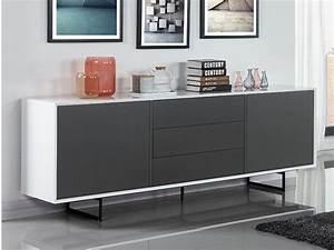 Sideboard Weiß Grau : sideboard angie 2 t ren 3 schubladen wei grau kaufen ~ Orissabook.com Haus und Dekorationen