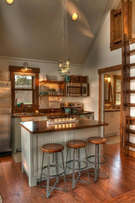 space tiny house kitchen cottage kitchens