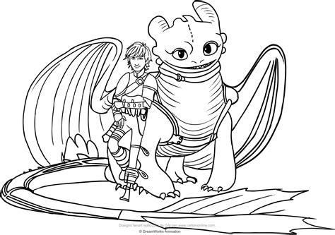stampare disegni da colorare dragon trainer pagine da