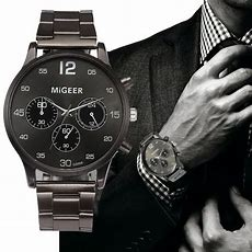 Migeer Watches For Men 2018 Luxury Designer Stainless