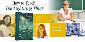 Free Teaching Guide  The Lightning Thief