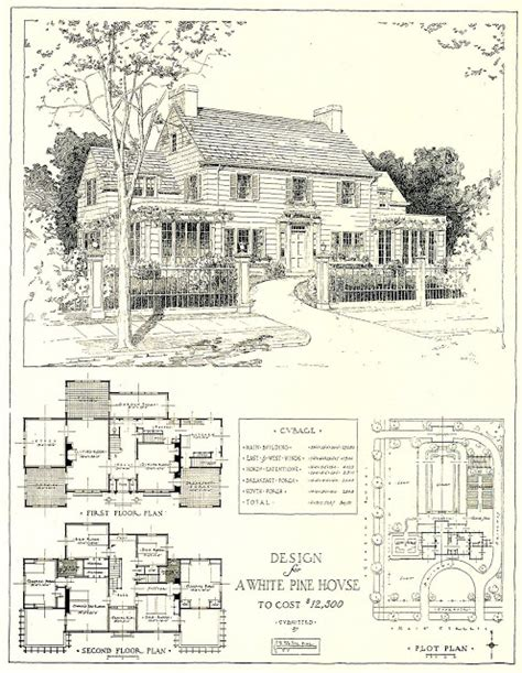house architecture plans architectural plans for a mr blandings type dream house costing 12 500 in 1917 content