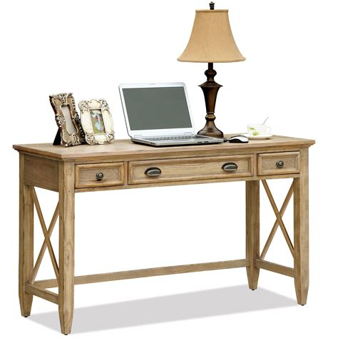 riverside furniture coventry writing desk with 3 drawers