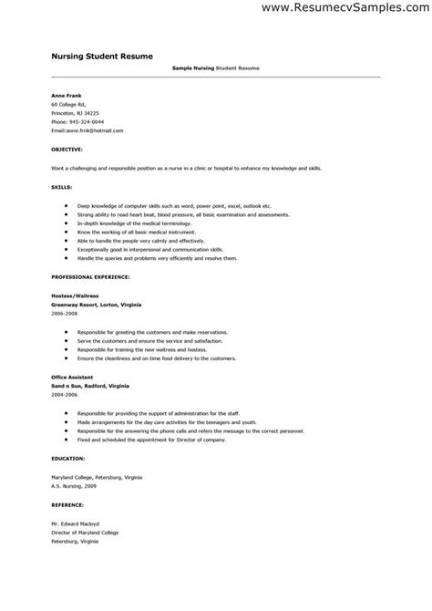 reference page for resume nursing http www