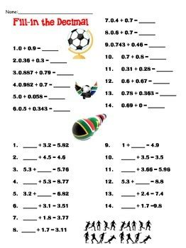 world cup soccer math worksheets  mo don teachers pay