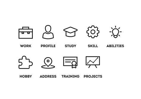 What Are Some Hobbies I Can Put On My Resume by Design Some Icons Freelancer