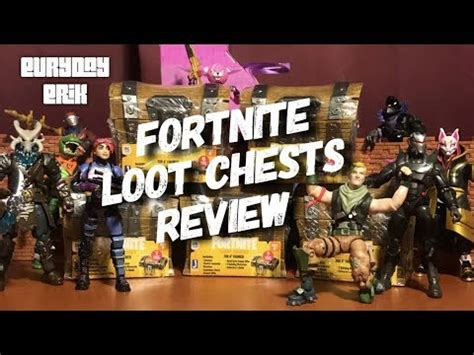 jazwares fortnite loot chests assortment  action figure